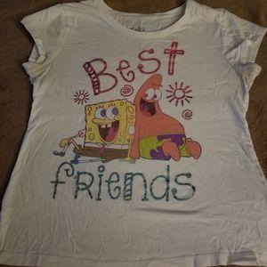 Justice spongebob shirt